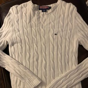 Vineyard Vines Ladies Cable Knit Sweater -XL